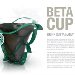 """Collapsible"" BETA CUP"