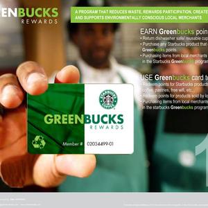 RETURN CUPS = GREENBUCKS REWARDS