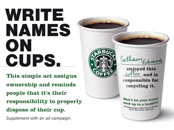 starbucks write up Starbucks has launched an initiative to encourage its employees and  given  baristas at 12,000 starbucks locations the option to write the words race  together  but getting people to speak up about race isn't the hard part.