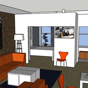 Kompakt lägenhet i New York