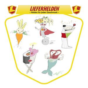 LIEFERHELDEN – Helden für jeden Geschmack