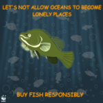 Don't allow oceans to become lonely places