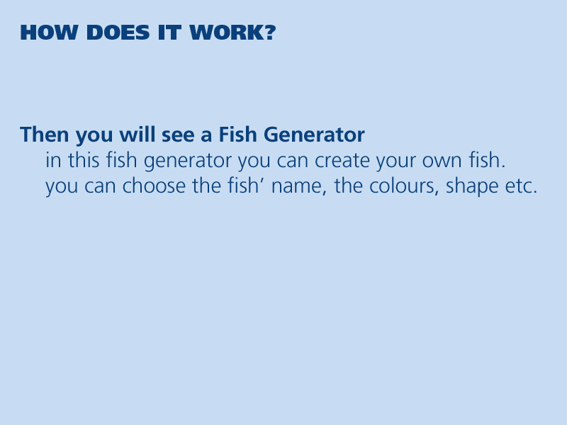 Jovoto myfish fabulous fish wwf for Create your own fish