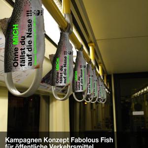 Kampagnen-Konzept Fabulous Fish