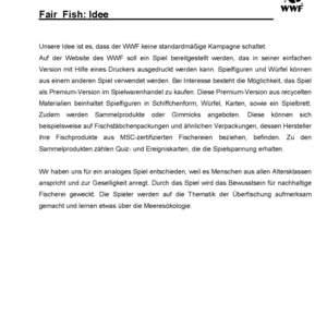 Fair Fish Brettspiel