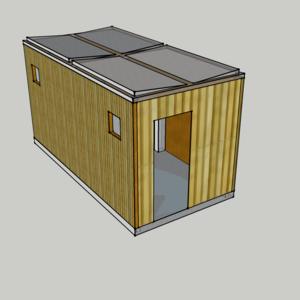 Precast Frame House