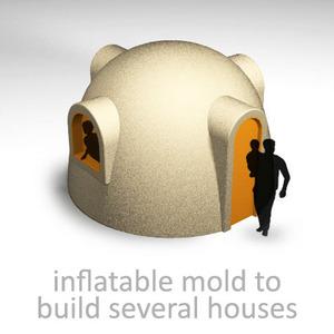inflatable-deflatable mold