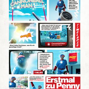 CannonballMan - Erstmal zu Penny in 2,9 Sek.