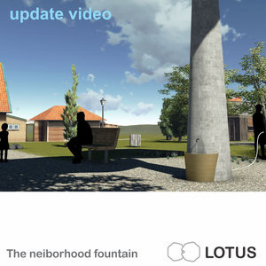 LOTUS neiborhood fountain