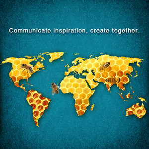 Communicate inspiration, create together.