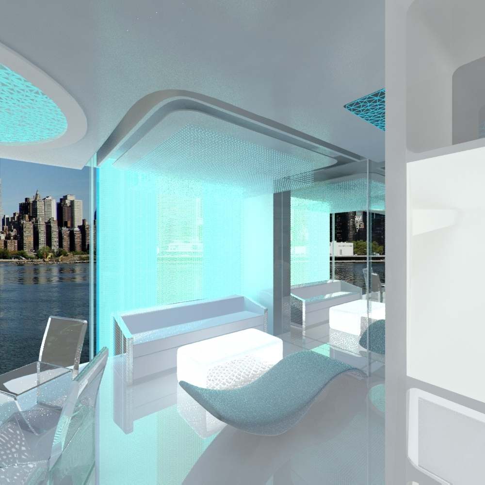 Jovoto future space smart room hotel room 2022 for Smart living room designs