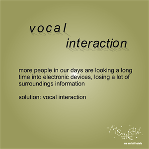 vocal interaction