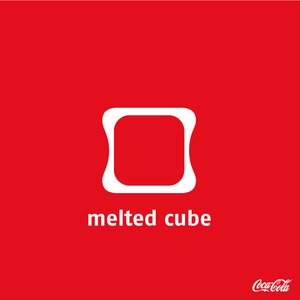 melted cube