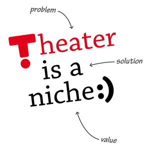 Theater is a niche :)
