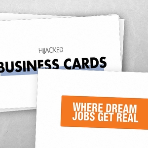 Hijacked Business Cards