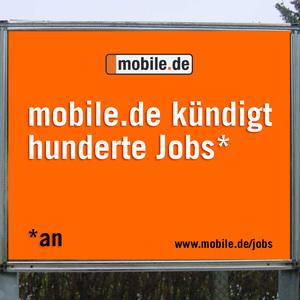 Mobile.de kündigt hunderte Jobs*     *an