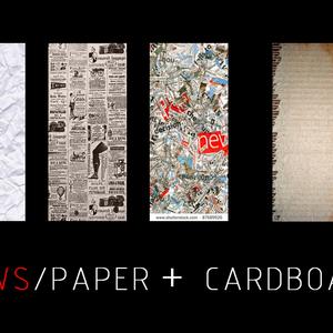 News/paper+Cardboard