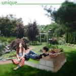 Green Folding Cushion