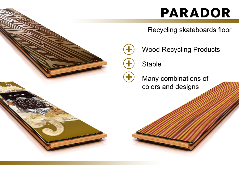 Jovoto Recycling Skateboards Floor Future Flooring Concepts