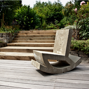 Rocking Chair - Schaukelstuhl aus Beton