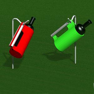 Flaschenkühler und Flaschenständer
