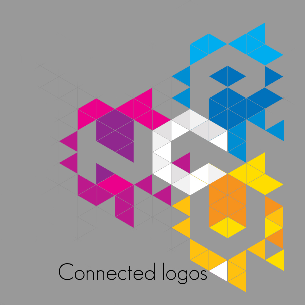 12 connected logos bigger