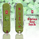 Swiss. For luck.