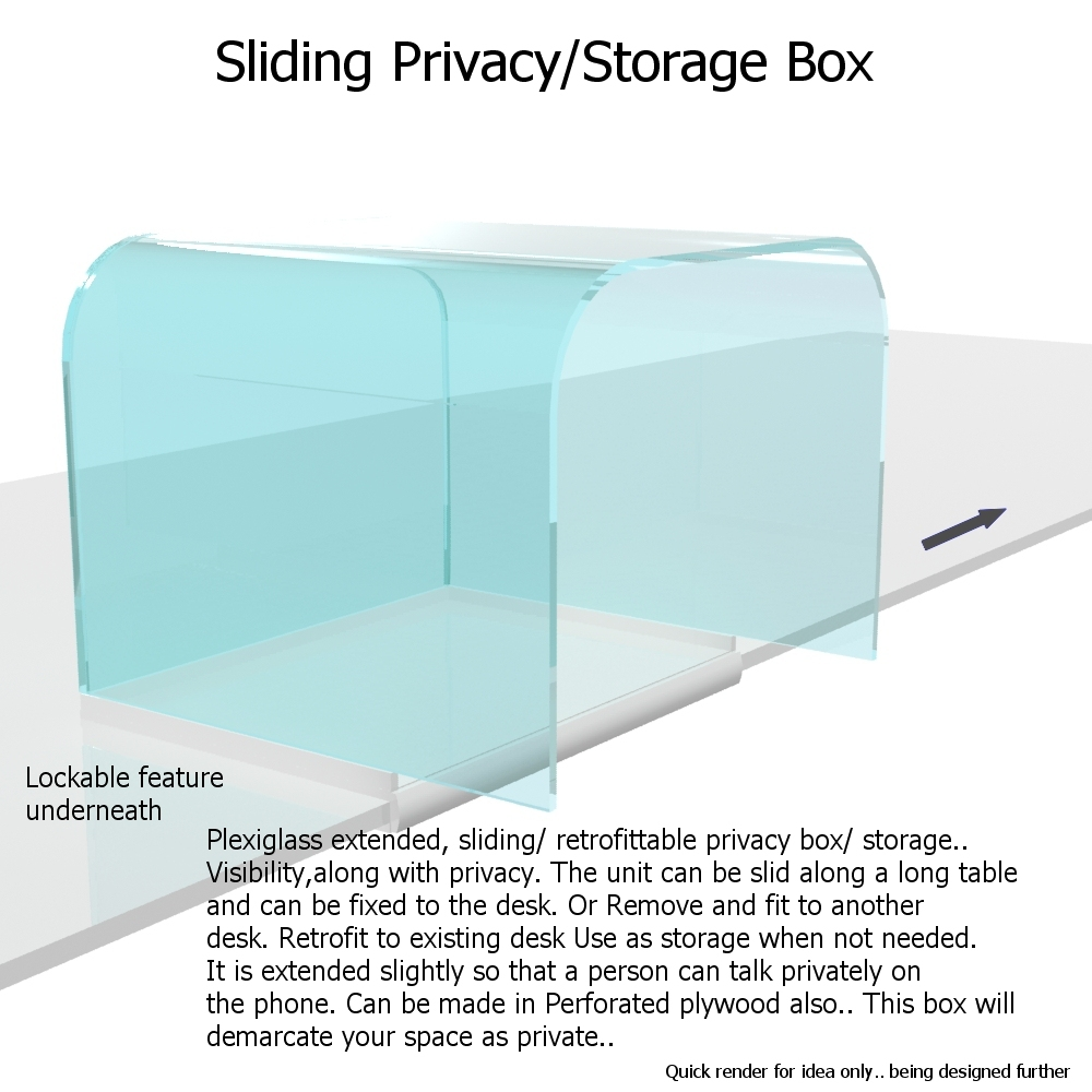 Privacy storage 1 bigger