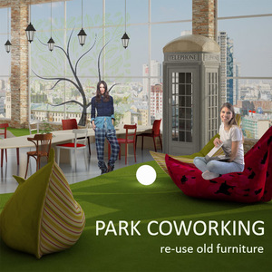 PARK coworking ( re-use old furniture)