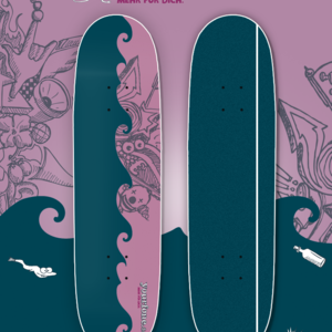 Yourfone Skateboard Deck