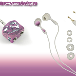 2 in 1 Sound Adapter