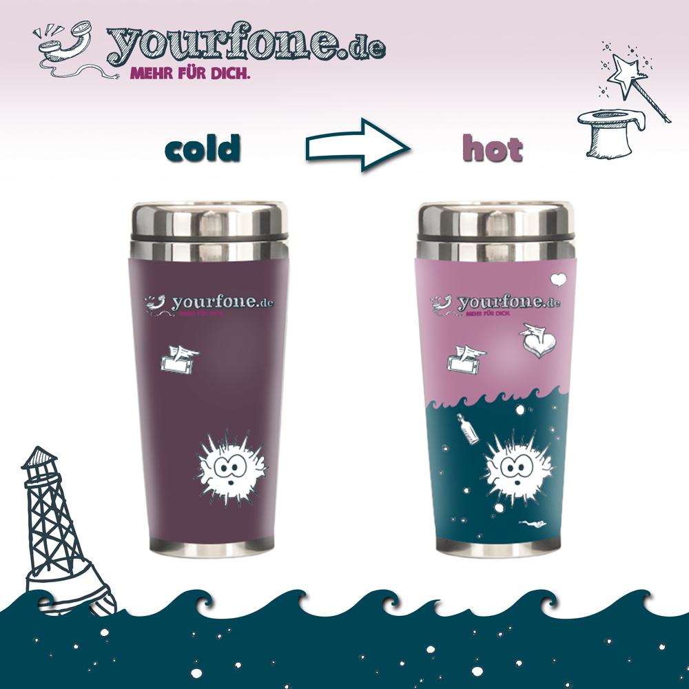 Cold hot mug bigger