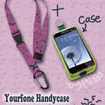 Handycase mit Schlüsselband und Karabinerhaken (UPDATED)