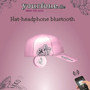 Hat-headphone bluetooth