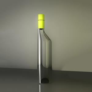 Angle bottle