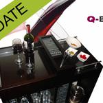 Q-BAR! + Bar stools