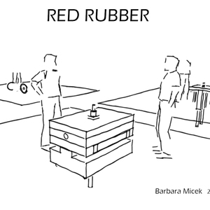 Red rubber pump