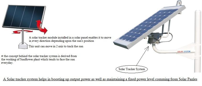 Dual axis solar tracker bigger