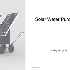 Solar Water Pump Box