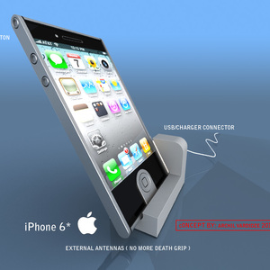 Iphone 6* concept 2010 With solar power