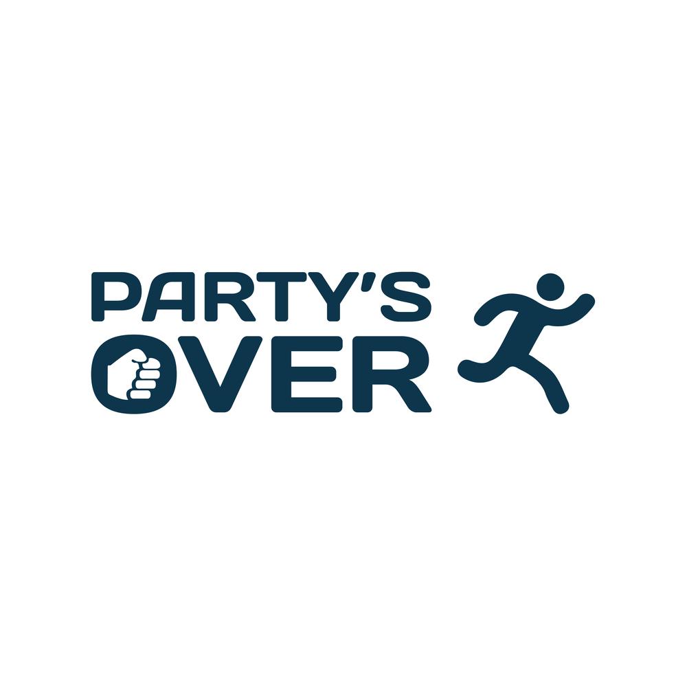 Partys over logo 1 2nd slide bigger