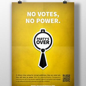 Party's Over – Korruption soll unter Strafe gestellt werden!