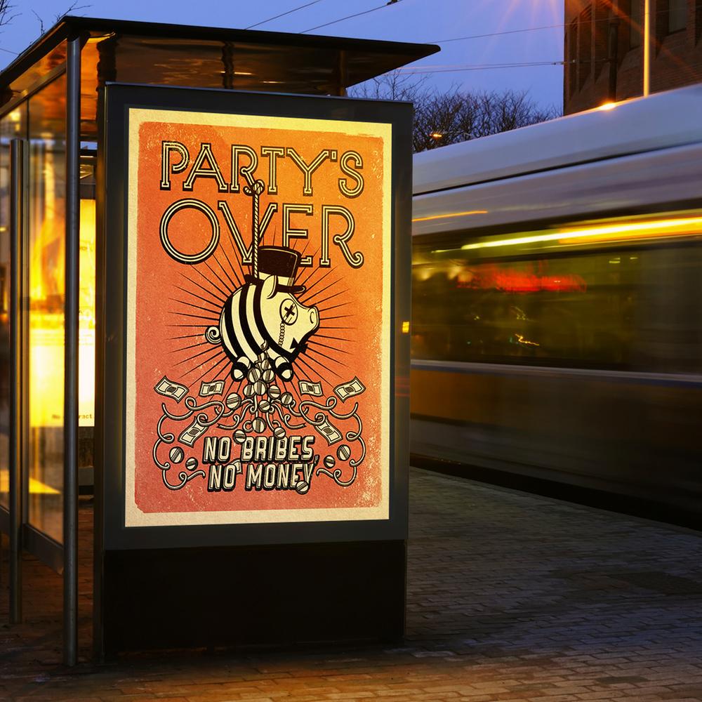 Poster night bigger