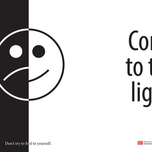 Come to the light! 1