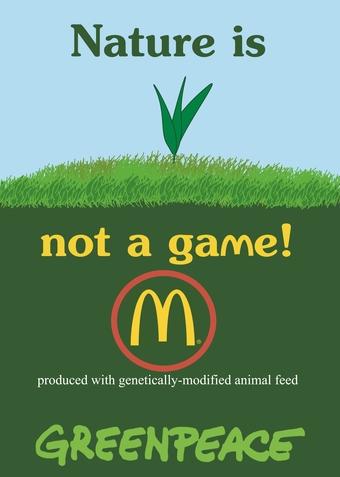 jovoto mcdonalds genetic greenpeace against gen food greenpeace. Black Bedroom Furniture Sets. Home Design Ideas
