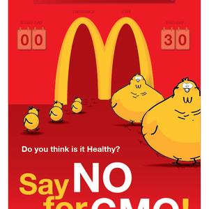Say NO for GMO - 1.