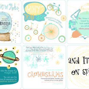 Turn around the snow globe!!