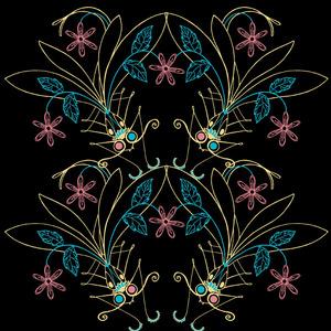 Flowers&Dragonflies