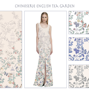 Chinoserie English Tea garden