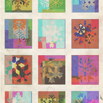 Multicoloured Snowflakes